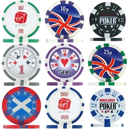 Clearance Poker Chips - Many Styles