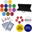High Quality 500 Piece Suited Numbered Poker Chip Set