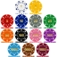 High Quality Suited Numbered Poker Chip Sample Pack