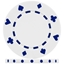 High Quality White Suited Poker Chips