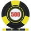 Tri-Gen Numbered Tournament Poker Chips - Black 500
