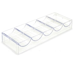 100 Acrylic Chip Tray