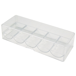 100 Acrylic Chip Tray With Lid