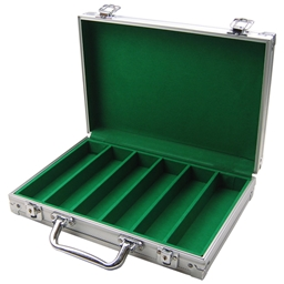 Aluminium 300 Poker Chip Case Compact