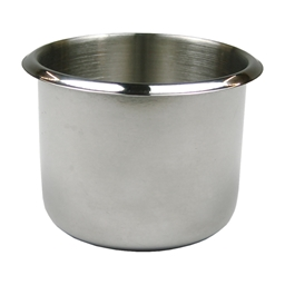 Small Stainless Steel Poker Table Cup Holder