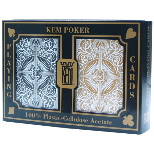 KEM Twin Pack Black & Gold - Large Index