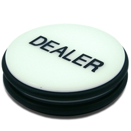 Large Dealer Button 'Puck'