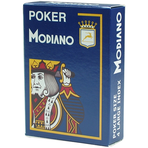 MODIANO Poker Cards - Blue