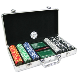 Party Poker 300 Poker Chip Set in PartyPoker .it Chip Case