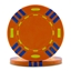 Tri Colour Poker Chips Orange