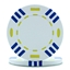 Tri Colour Poker Chips White