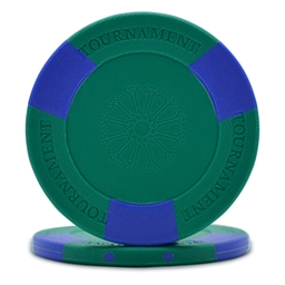 Tri-Gen Tournament Poker Chips Green