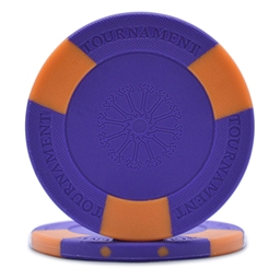 Tri-Gen Tournament Poker Chips Purple