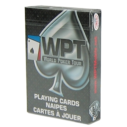 WPT BEE Branded playing Cards - Black