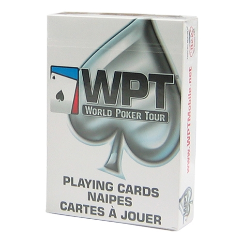 WPT BEE Branded playing Cards - White