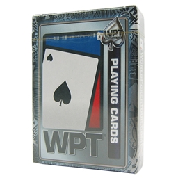 WPT Playing Cards - 100% PVC