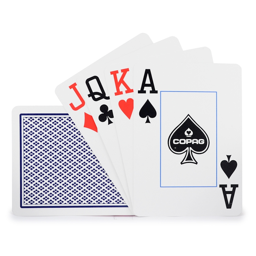 Poker card scale